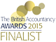 British Accountancy Awards Finalist 2015