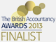 British Accountancy Awards Finalist 2013