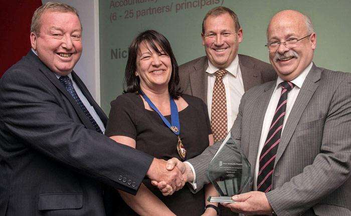 Nicklin wins top regional accountancy award