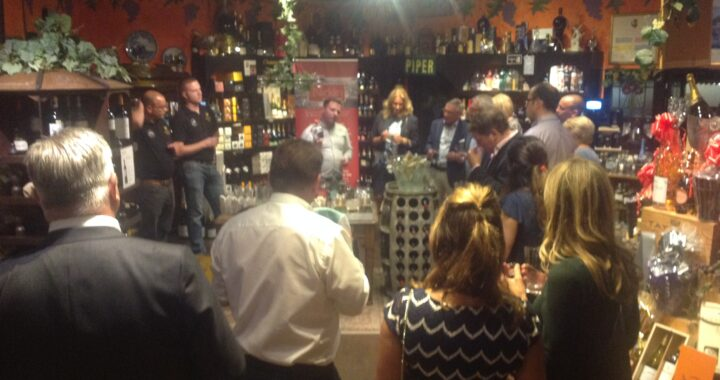 Nicklin Business Advisors keeps clients' spirits high with an evening of distilled delights