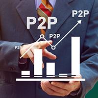 Big increase in P2P lending